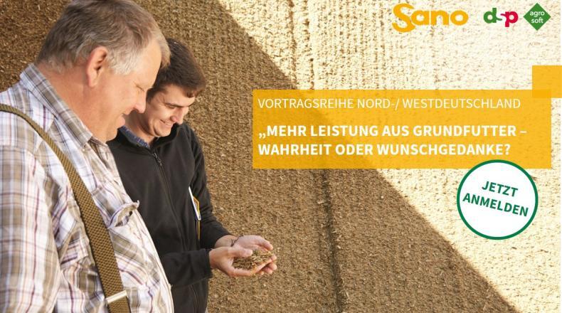 News Vortragsreihe Nord/West Sano - Grundfutter