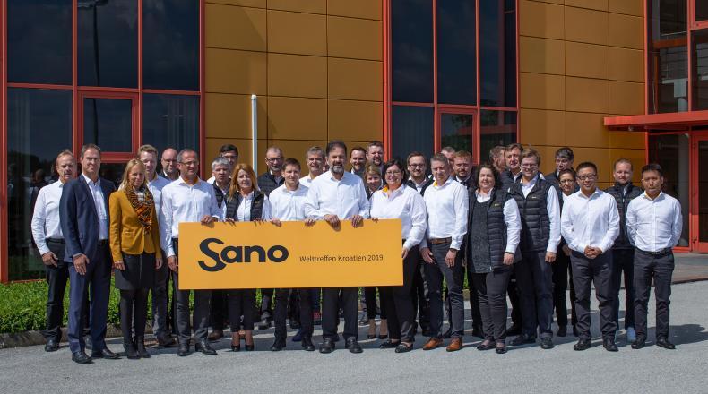 Gruppenbild Sano Welttreffen