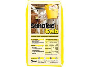 Sanolac Gelb_Milchaustauscher ohne Palmfett