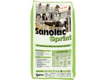 Sanolac Sprint - Der angesäuerte Milchaustauscher für ad libitum Tränke