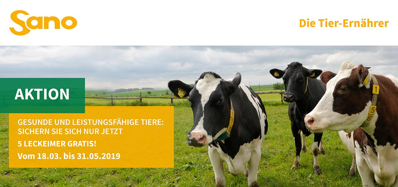 Leckeimer Verkaufsaktion Sano 2019