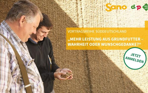 News: Vortragsreihe Süddeutschland- Grundfutter
