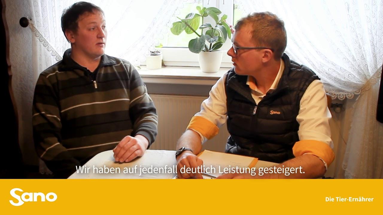 YouTube Vorschaubild für Sano Landwirte im Gespräch: Gesündere Tiere durch optimierte Ration