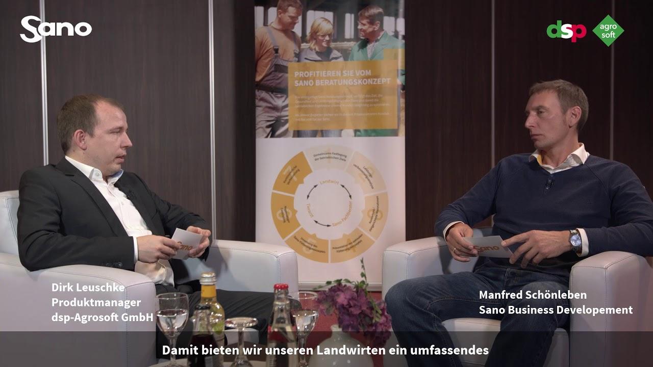 YouTube Vorschaubild für SmartDairyNutrition - Interview Dirk Leuschke Produktmanager dsp-Agrosoft