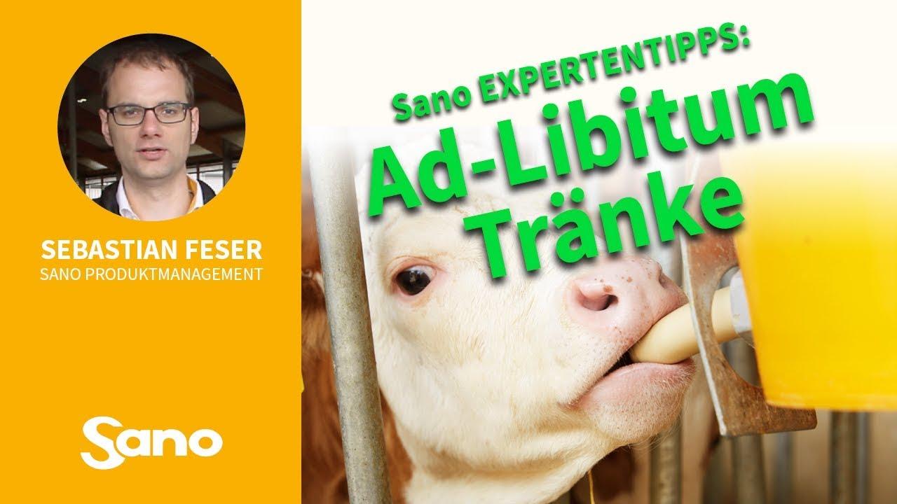 YouTube Vorschaubild für Sano Expertentipps - AD LIBITUM TRÄNKEN