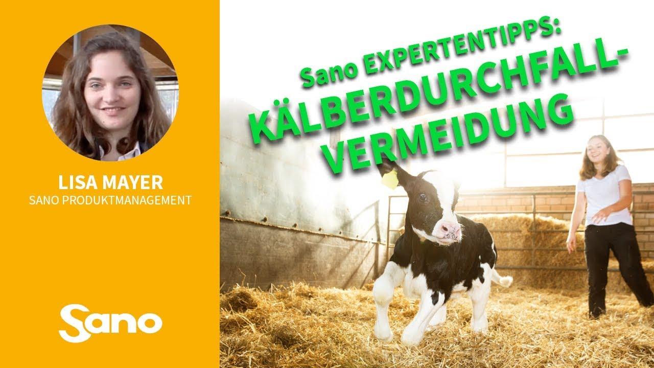 YouTube Vorschaubild für Sano Expertentipps: KÄLBERDURCHFALL VERMEIDEN